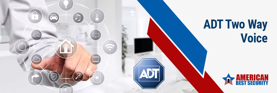 ADT Two Way Voice Home Security In Houston